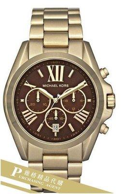 雅格時尚精品代購Michael Kors Bradshaw Wrist Watch 經典手錶 MK5502 美國正品