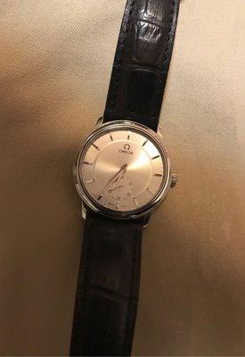 OMEGA de vile 手動上鍊腕錶(極稀有)二手 收藏用~古典紳士風格
