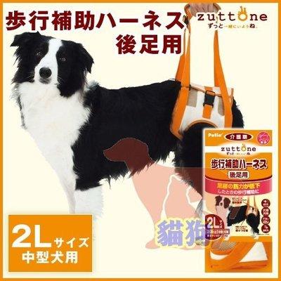 **貓狗大王**日本 PETIO 步行補助帶、後足輔助帶2L // 協助散步、復健