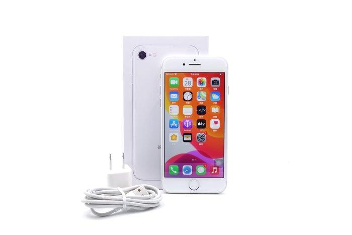 【台中青蘋果競標】Apple iPhone 8 銀 256G 4.7吋 蘋果手機 瑕疵機出售 #55464