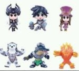 【紫色風鈴3】動漫周邊批發4代6款英雄聯盟LOL盒裝手辦