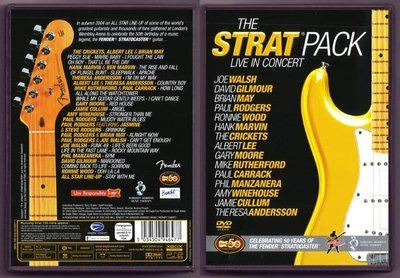 The Strat Pack Live In Concert 吉他大師倫敦演唱會 DVD/dts@XI31227
