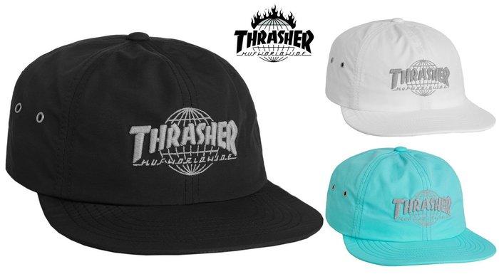 【超搶手】 全新正品 美牌 聯名 HUF x THRASHER TDS 6 PANEL 3M反光 六片帽 棒球帽 三色