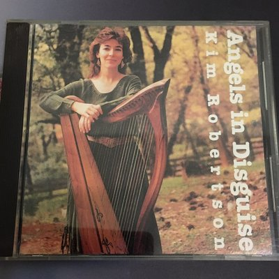 *愛樂熊貓*1987正美盤Angels In Disguise/Kim Robertson豎琴SOLO HARP