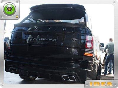 泰山美研社 D7669 Range Rover 荒原路華 車款 排氣管 國外進口