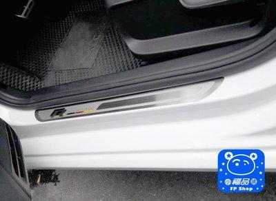 ** 福品小舖 ** 福斯 VW  New POLO GOLF 不銹鋼迎賓踏板 外置 門檻條 德國 R 版