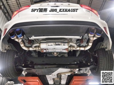JHG_Exhaust 福特 Ford Focus MK3 MK3.5 MK4 中尾段閥門排氣管