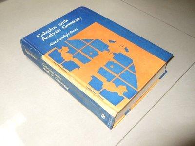 古集二手書d ~Calculus with Analytic Geometry 7907