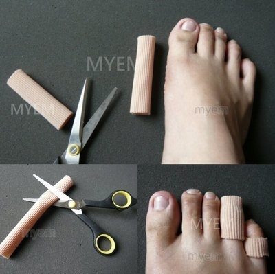 腳趾專用舒適矽膠保護條 減少摩擦 保護腳指磨破皮 矽膠腳指保護套