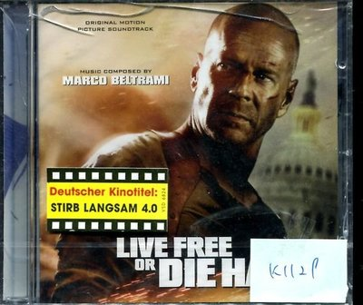 *真音樂* LIVE FREE OR DIE HARD 德版 全新 K1129 (219下標賣3)
