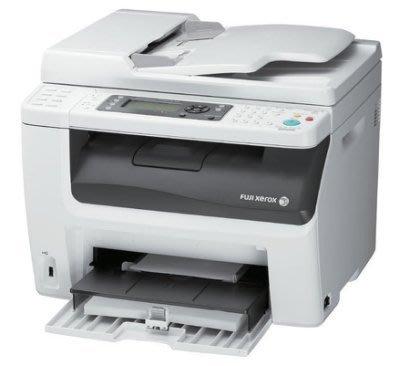 二手Fuji Xerox CM 215 fw 彩色無線網路多功能複合機{內附4色全新副廠碳匣}