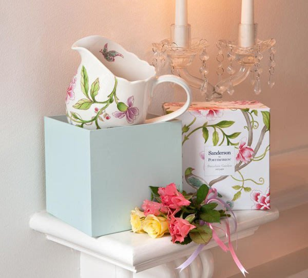 蘇菲亞精品傢飾~英國進口Sanderson Garden系列水罐