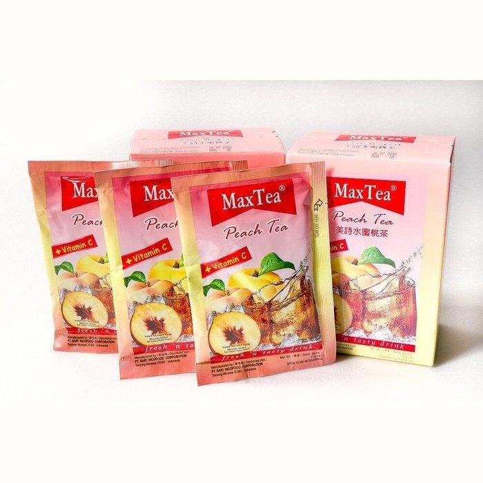 【BOBE便利士】Max Tea 印尼拉茶系列 水蜜桃茶 115g(5入)