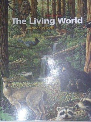 【月界二手書店2】The Living World_George B. Johnson_原價4952〖大學理工醫〗ACF