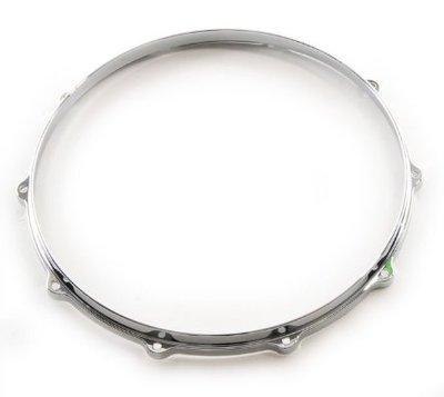 12吋 6洞爵士鼓框, DIE CAST HOOP, 手工鑄造框, 銀色