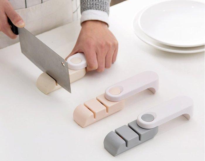 特價家用菜刀磨刀器便捷磨刀石快速磨刀棒廚房多功能便攜磨刀 可摺疊