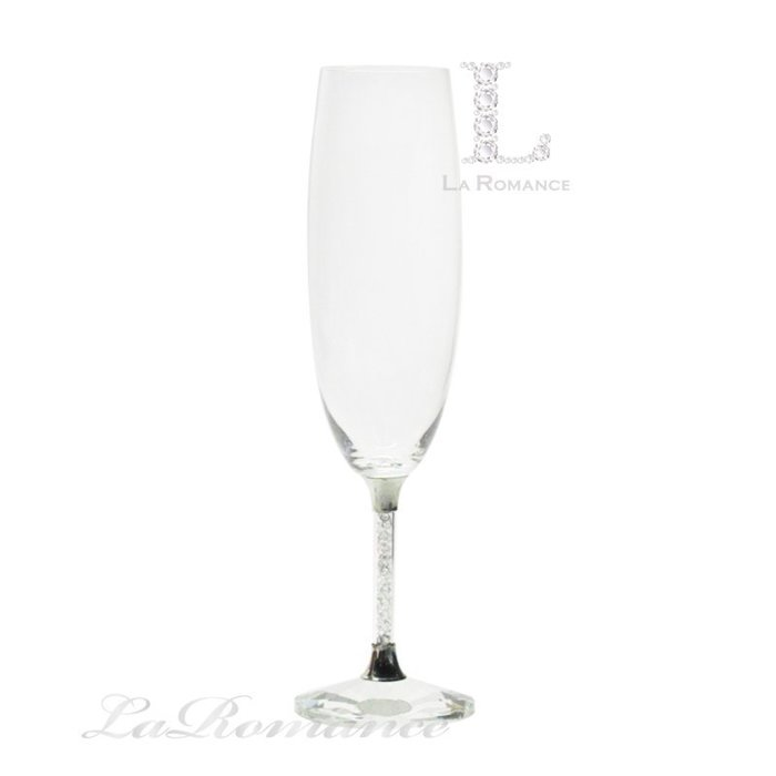 【芮洛蔓 La Romance】璀璨水晶 - 香檳碎鑽杯 / 高腳杯 / 酒杯