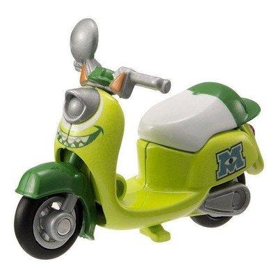 絕版~現貨~極限量!! 日版 TOMICA 多美 合金 怪獸電力公司 大眼仔 機車 摩托車