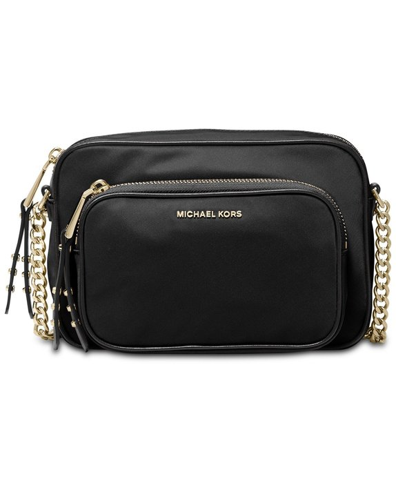 美國名牌 michael Kors Leila Camera Bag 專櫃款防水尼龍相機斜背包現貨在美特價$3680含郵