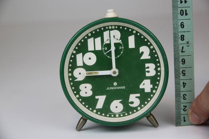 1016-回饋社會-特價品-桌用老時鐘(功能正常-可惜背面缺件)德國製收藏品(郵寄免運費~建議自取確認)