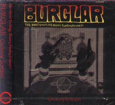 K - BURGLAR - Groovy Scream - 日版 - NEW