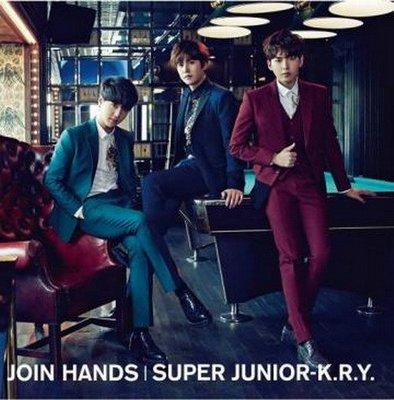 JOIN HANDS(台壓初回限定版)/Super Junior-K.R.Y.---AVJSG40764A