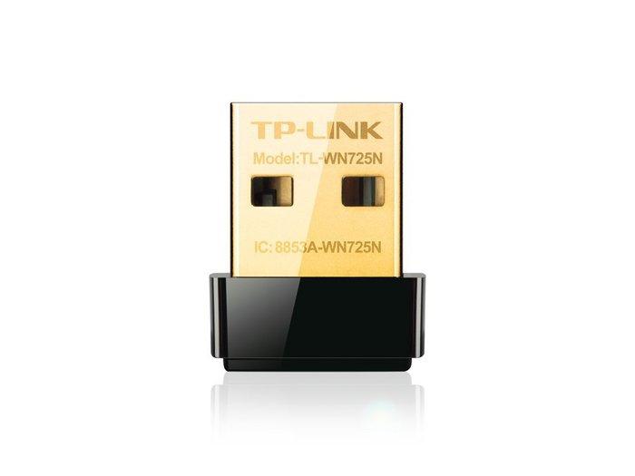【鳥鵬電腦】TP-LINK TL-WN725N 超微型 11N 150Mbps USB 無線網路卡 超迷你 725N