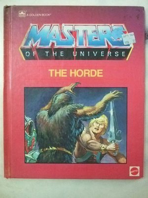 A1☆1985年『Masters Of The Universe-The Horde太空戰士』《A Golden Book》