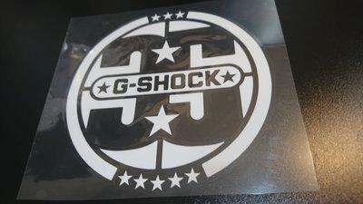 G-SHOCK 35周年 防水貼紙 車貼  10cmx10cm