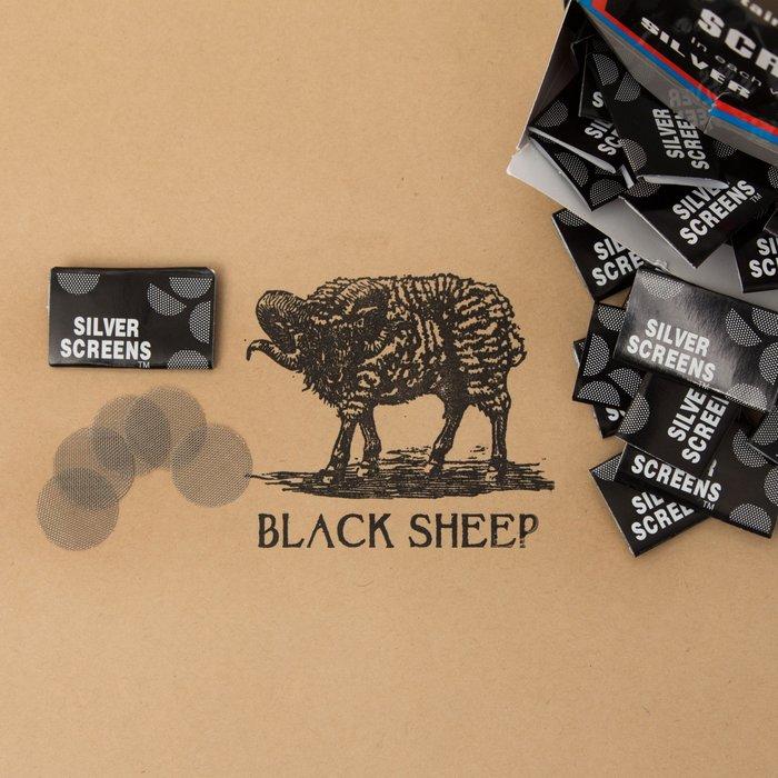 黑羊選物 Sliver screens  濾網 單包/整盒 煙斗水煙必備 五片裝 Pipe Filter 不可或缺好夥伴