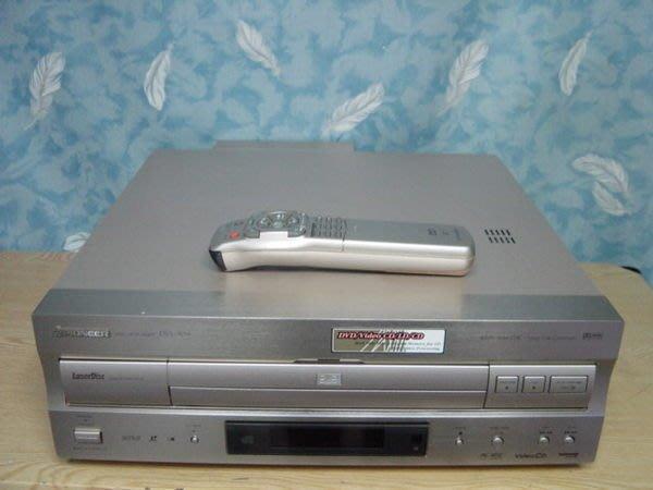 【小劉二手家電】Pioneer高級鋁製髮絲紋面板雷射碟影機,DVL-909,舊壞機也可修理/回收
