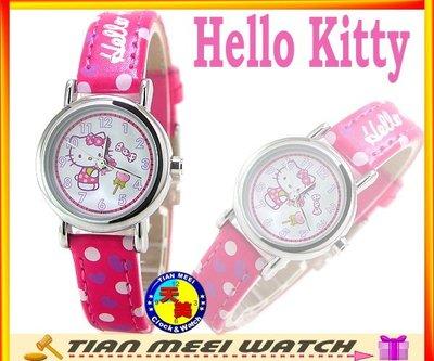 【全新原廠公司貨】【天美鐘錶店家直營】【下殺↘超低價有保固】日本Hello Kitty錶-KT004LWWP-1