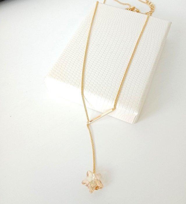 【BJGO】星星項鍊 鎖骨鍊  送禮自用 禮物
