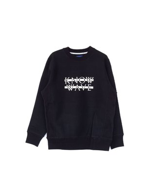 (A.B.E)KNOW WAVE KNOCKOUT PRINT SWEATSHIRT