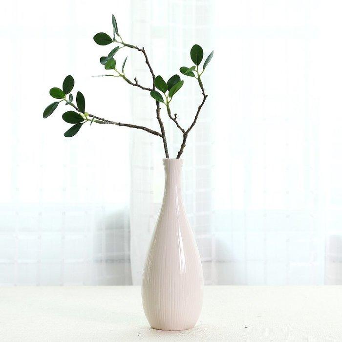 爆款創意文藝小清新花瓶 陶瓷小口花器家居客廳干花插花日式裝飾擺件#簡約#陶瓷#小清新