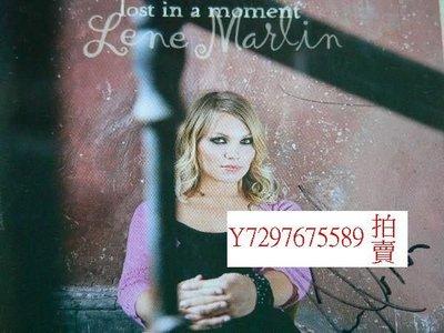 Lene Marlin琳恩瑪蓮親筆簽名Lost In A Moment追憶似水年華專輯CD