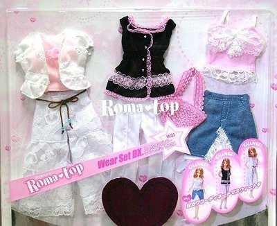 新奇玩具☆珍妮娃衣系列 流行衣服 W31 (3套入)