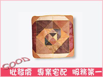 《娜富米家具》SB-396-2 牛皮椅墊~ 優惠價200元