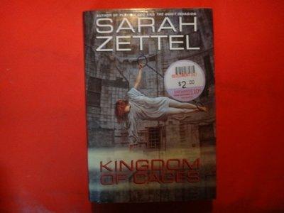 【愛悅二手書坊 07-49】 Kingdom of Cages          Warner Books