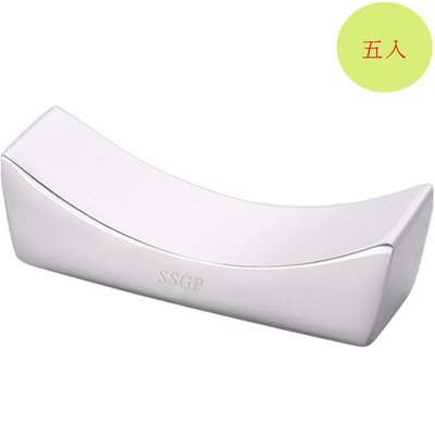 餐具304不鏽鋼筷子架筷子托筷枕(5入組)E130-2