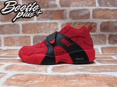 BEETLE PLUS  NIKE AIR VEER GS 紅 黑 魔鬼氈 麂皮 女鞋 GD 599213-600 25