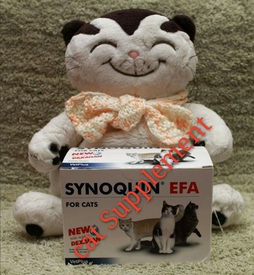 英國直送 Synoquin EFA 貓貓關節丸 (90粒)