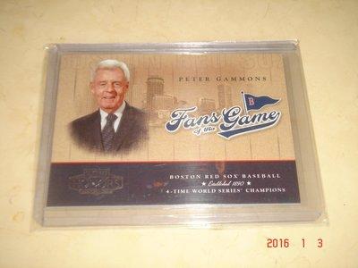 美國職棒 Peter Gammons 2004 Donruss Playoff Honors   球員卡