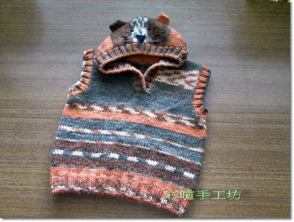 編織baby毛線背心材料包~多色任選~帽子、圍巾、手套、毛衣~~手工藝材料、編織工具、 進口毛線☆彩暄手工坊☆
