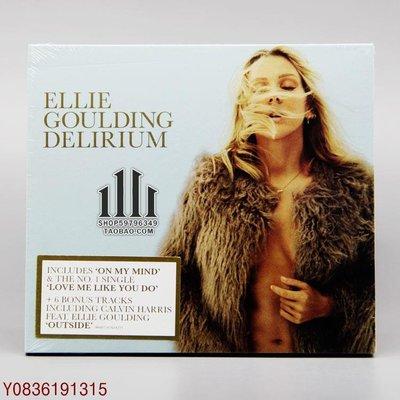 爆款CD.唱片~Ellie Goulding Delirium 英倫綿羊音女聲 2CD 豪華版 [E]