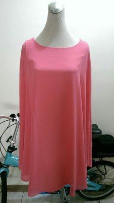 Le Polka 粉色斗篷式洋裝(69)