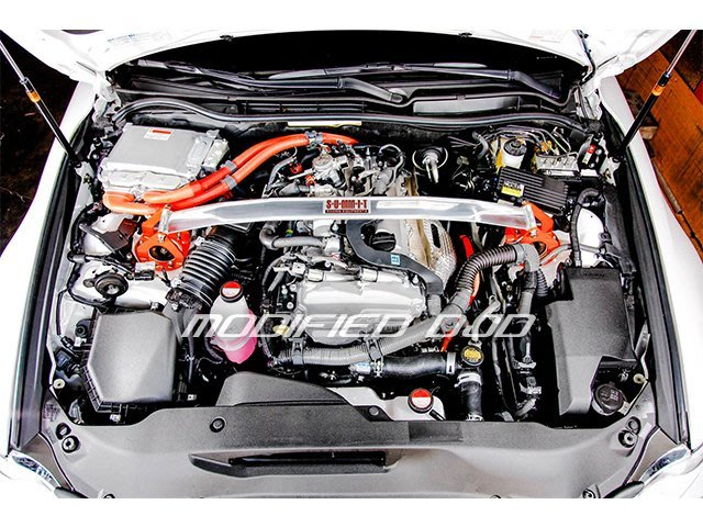 DJD 16 LX-H0824   SUMMIT鋁合金前上拉桿 IS250/300H(通用)須拆引擎塑膠蓋