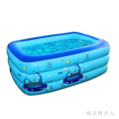 【歐慕家居】嬰兒童充氣游泳池 寶寶游泳桶家用成人超大號保溫家庭加厚洗澡池-OMJJ122154