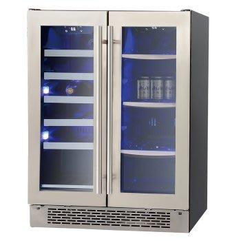 唯鼎國際【PACIFIC 太平洋紅酒櫃】LRW60D 雙溫紅酒櫃 飲料櫃