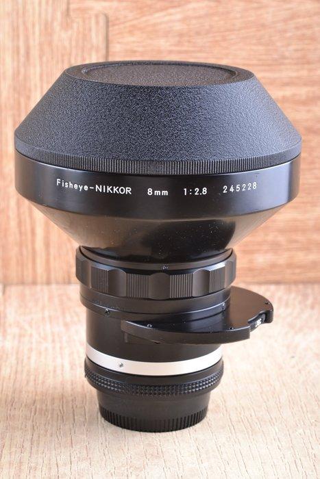 【品光攝影】Nikon Ais 8mm F2.8 全周 魚眼 Fisheye 內建濾片 收藏級美品 #46179J